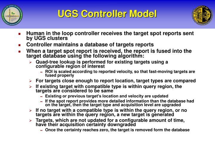 UGS Controller Model