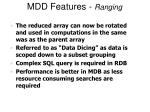 mdd features ranging2