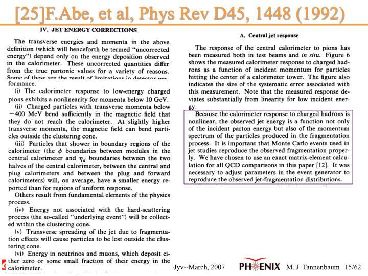 [25]F.Abe, et al, Phys Rev D45, 1448 (1992)