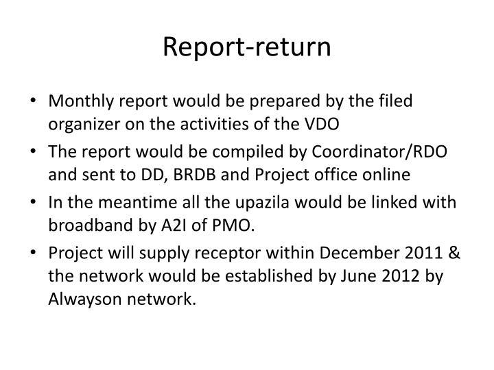 Report-return