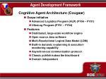 agent development framework