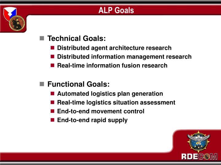 ALP Goals