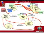 msp agent interaction