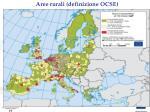 aree rurali definizione ocse