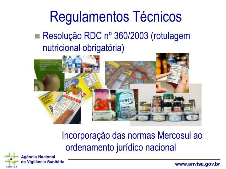 Regulamentos Técnicos