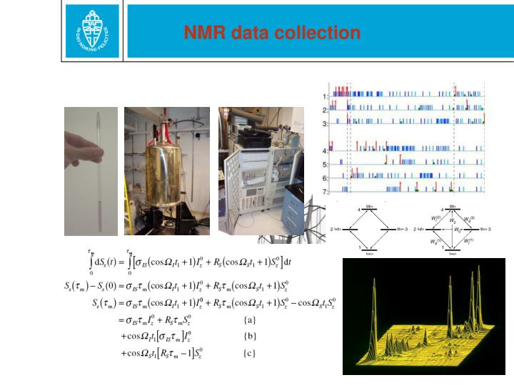 NMR data collection