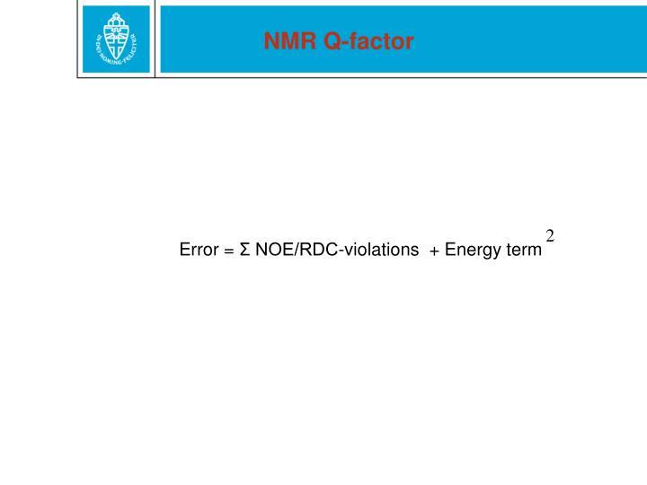 NMR Q-factor
