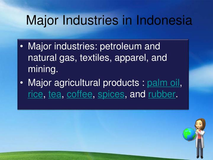 Major Industries in Indonesia