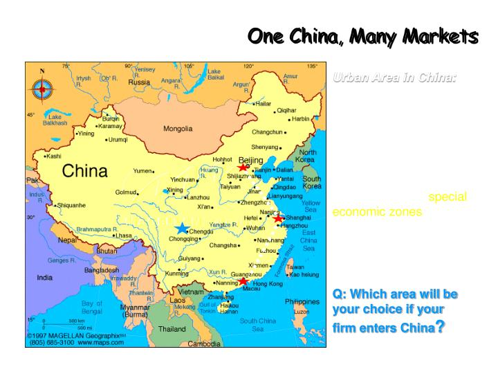 One China, Many Markets
