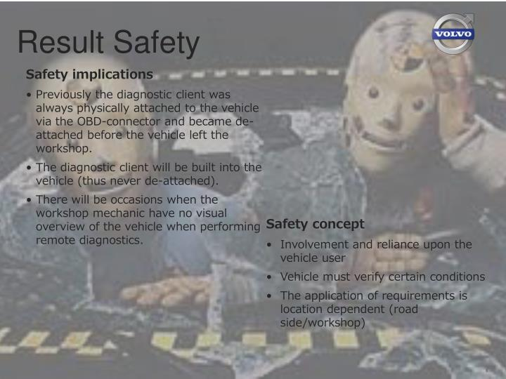 Result Safety