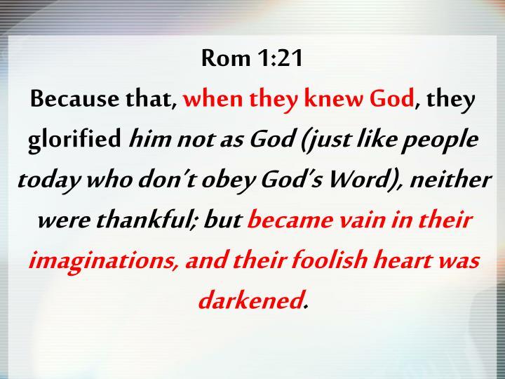 Rom 1:21