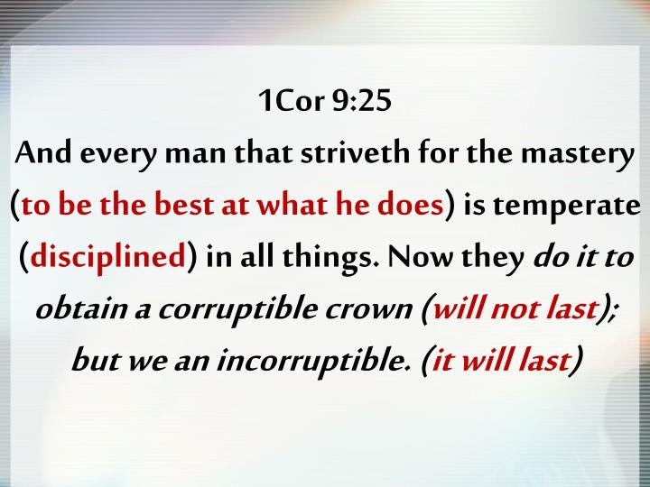1Cor 9:25