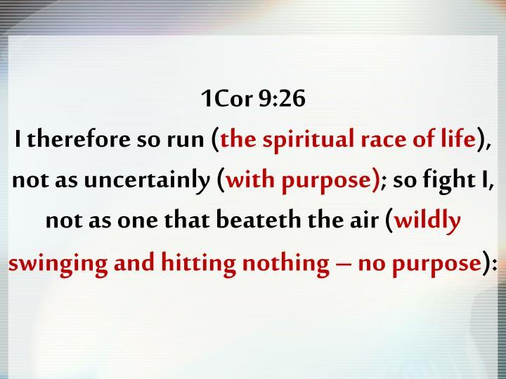 1Cor 9:26