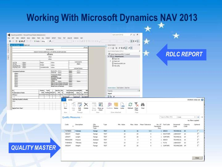 Working With Microsoft Dynamics NAV 2013