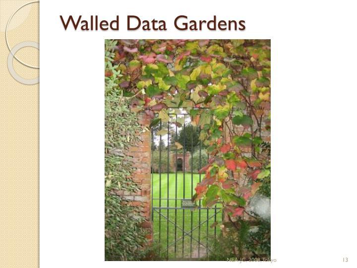 Walled Data Gardens