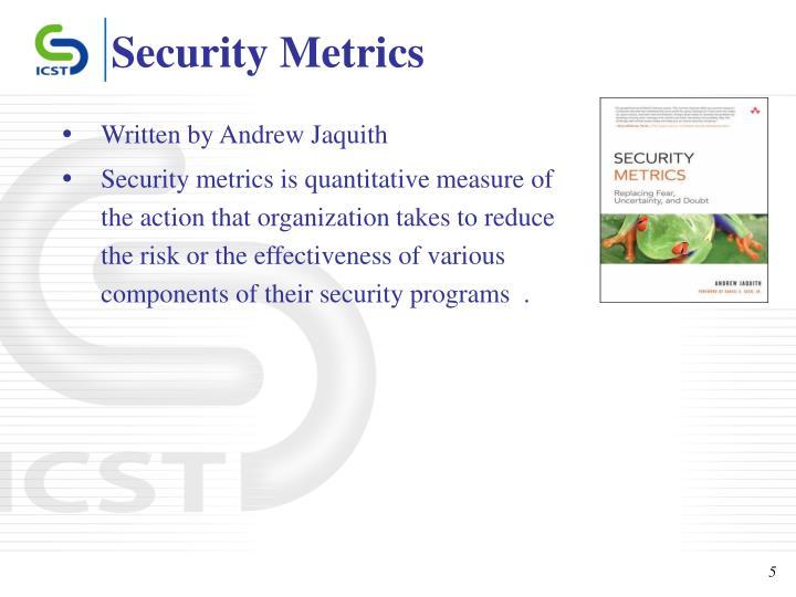 information security performance metrics pdf