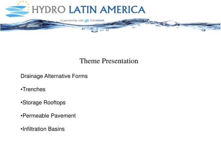Theme Presentation