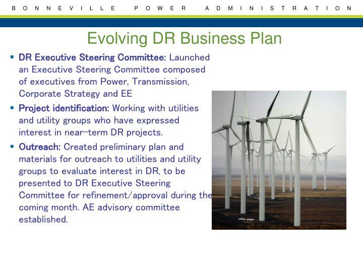 Evolving business plan