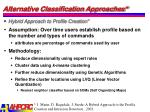 alternative classification approaches3