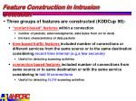 feature construction in intrusion detection2