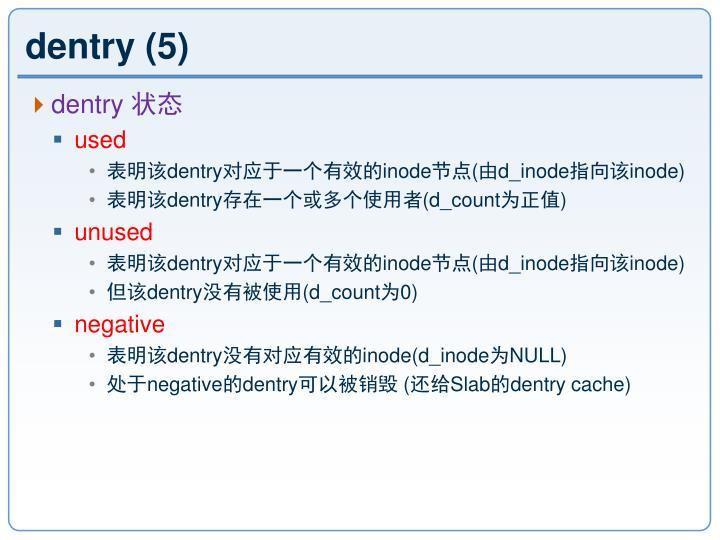 dentry (5)