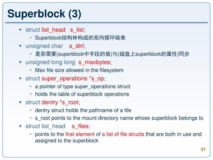 Superblock (3)