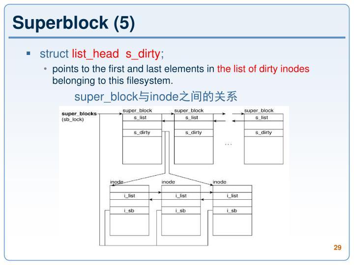 Superblock (5)