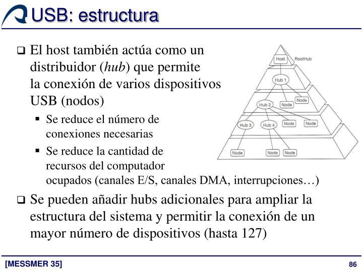 USB: estructura