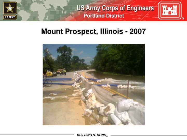 Mount Prospect, Illinois - 2007