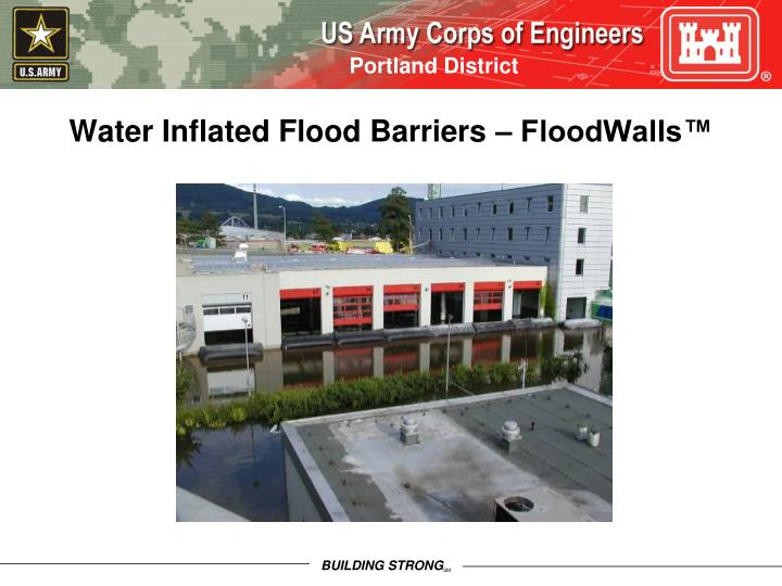 Water Inflated Flood Barriers – FloodWalls™