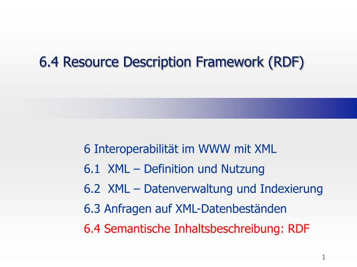 6 4 resource description framework rdf