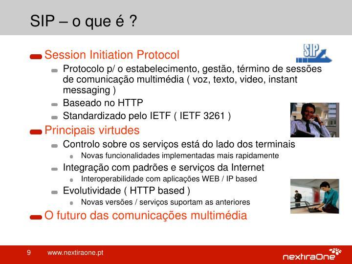 SIP – o que é ?