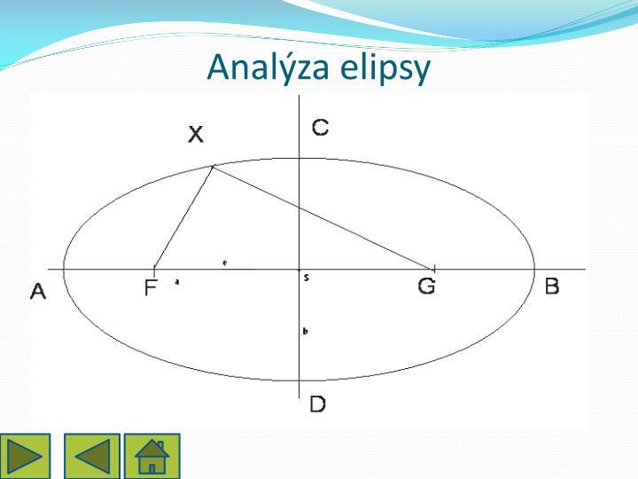 Analýza elipsy