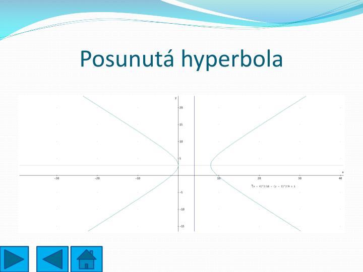 Posunutá hyperbola