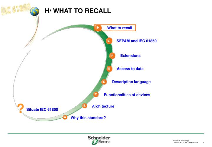 H/ WHAT TO RECALL