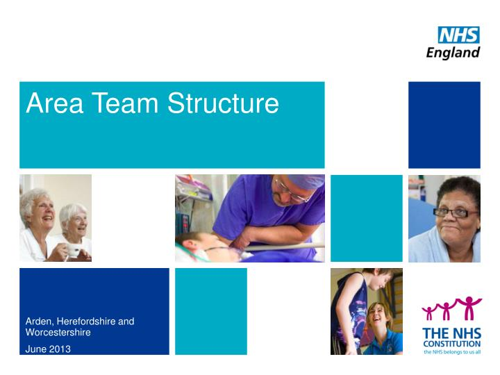 Area team structure