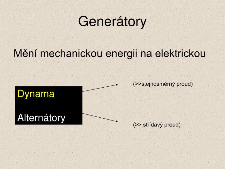 Generátory