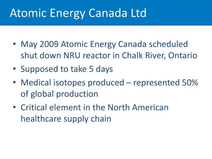Atomic Energy Canada Ltd