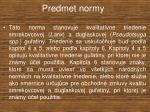 predmet normy2