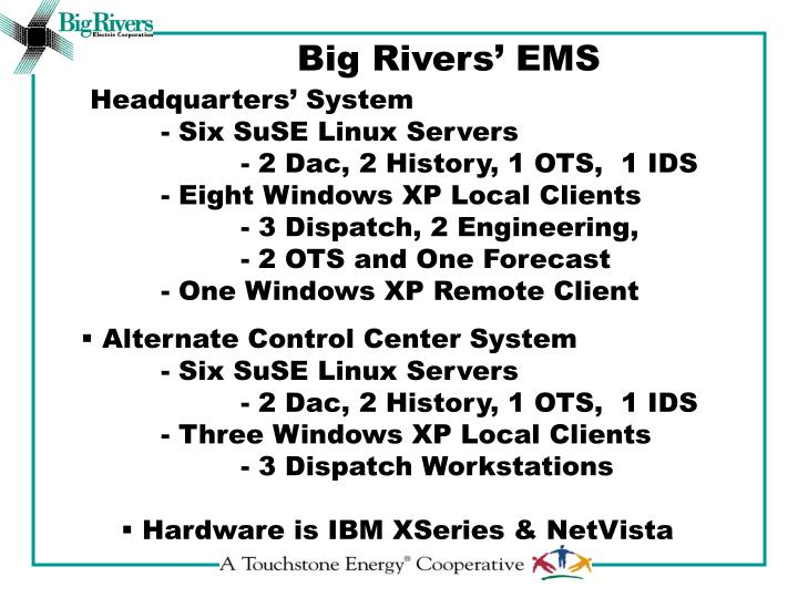 Big Rivers' EMS