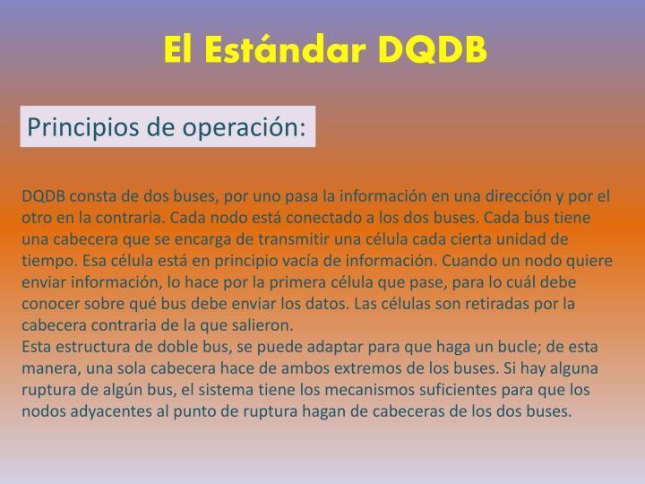 El Estándar DQDB