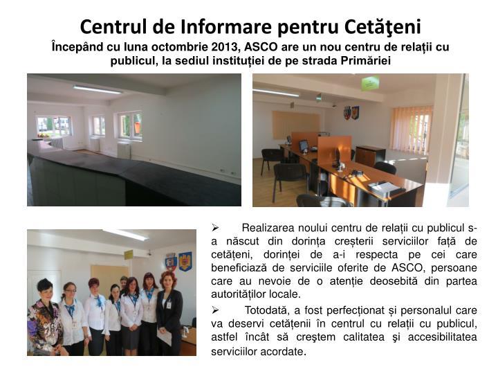 Centrul de Informare pentru Cetăţeni