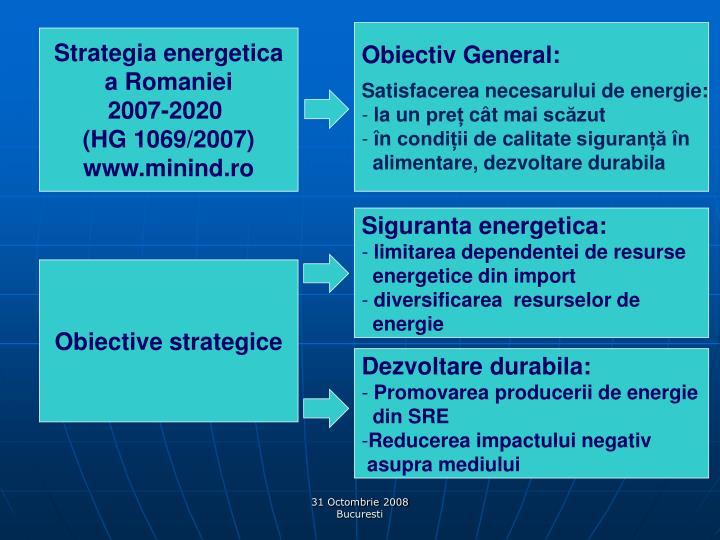 Obiectiv General: