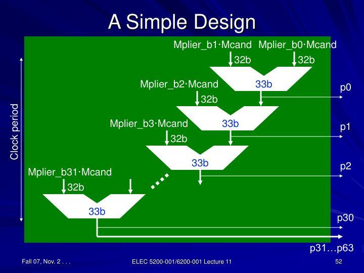 A Simple Design