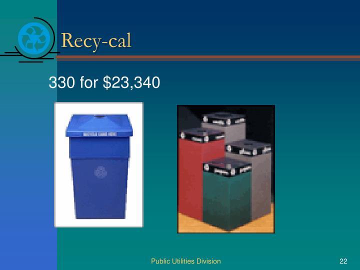 Recy-cal