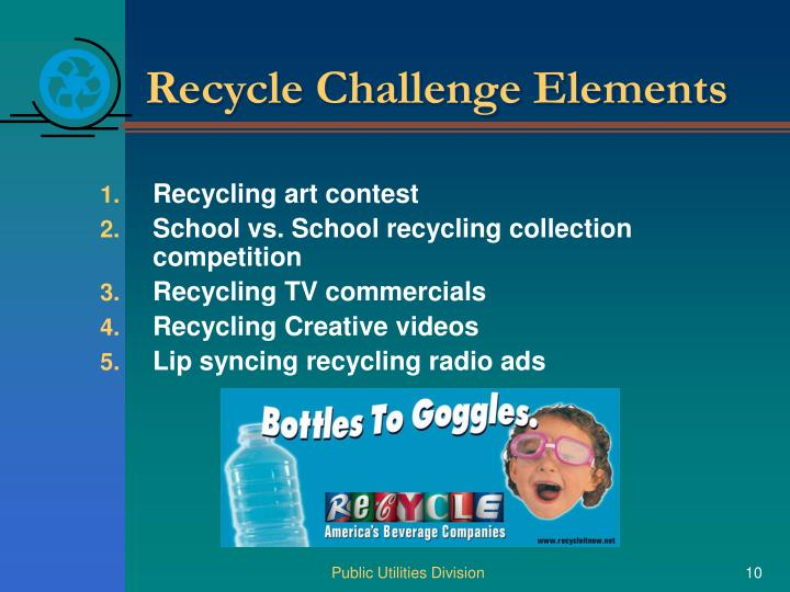 Recycle Challenge Elements