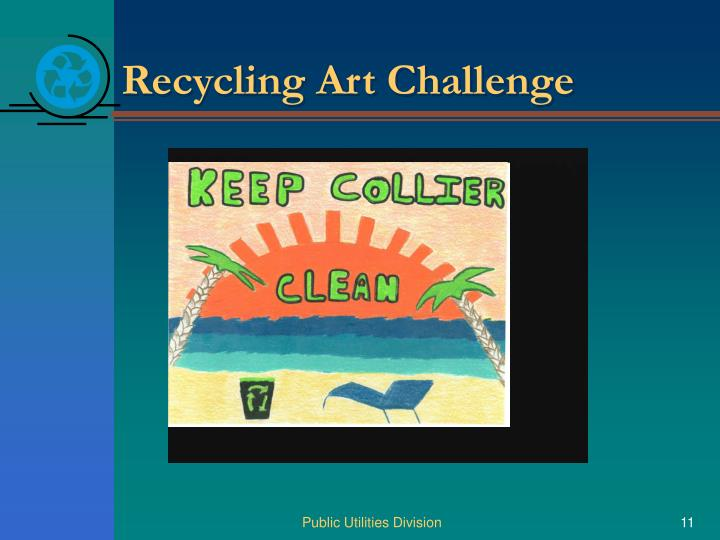Recycling Art Challenge