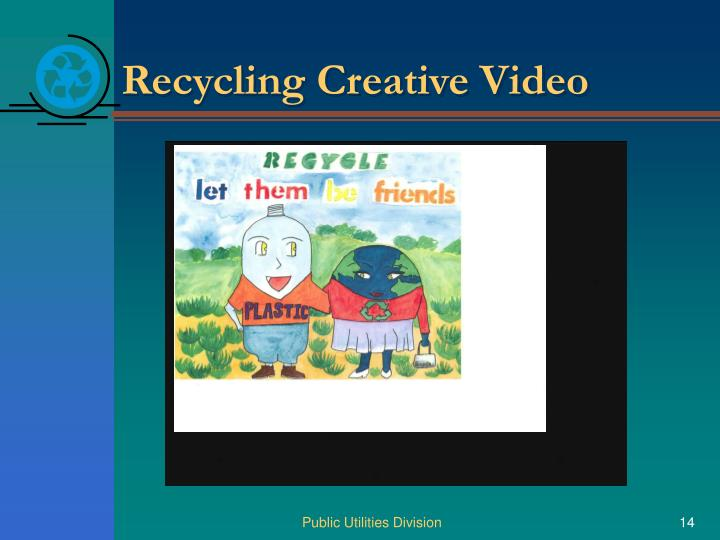 Recycling Creative Video
