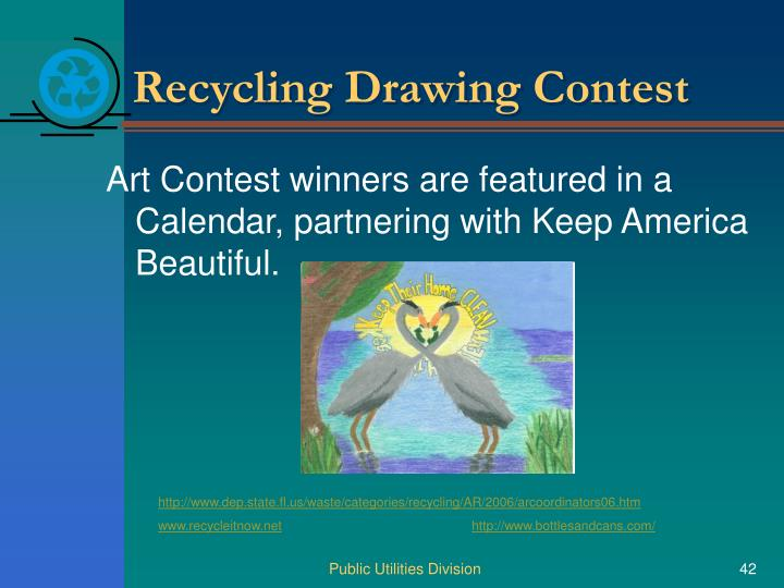 Recycling Drawing Contest