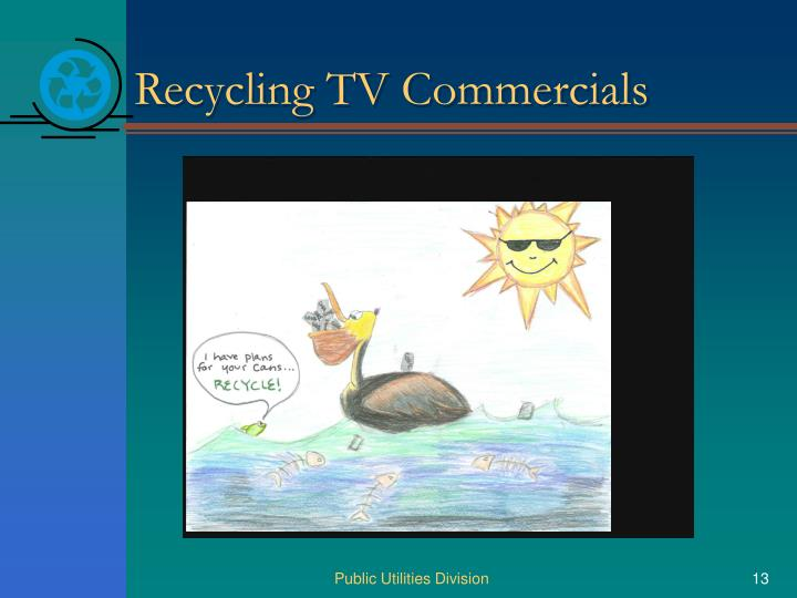 Recycling TV Commercials